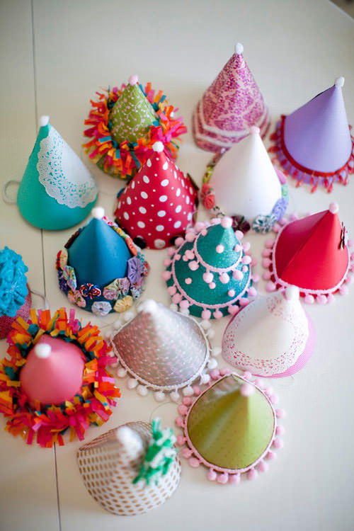 Embellished Party Hats