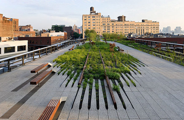 Highline Park New York 1 Artful Landscapes: 10 Modern Landscape Architecture Designs