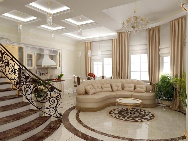 Красивые ремонты в частных домах: дизайн частного дома на фото —  Строительная компания Акфен | akfengroup_main.ru