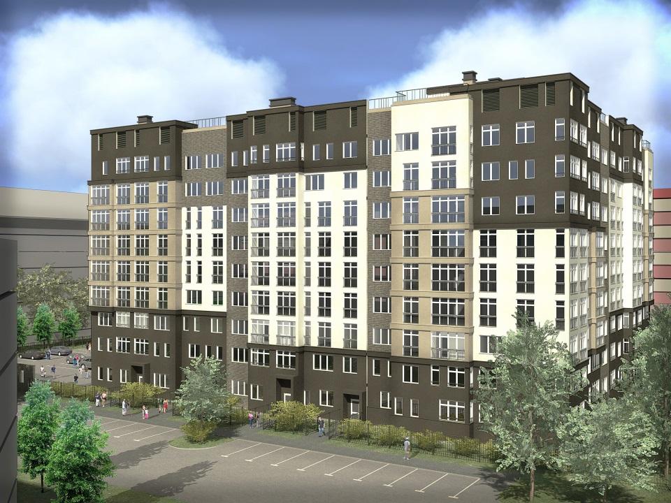 Проект строящегося дома на Кошевого-Карамзина