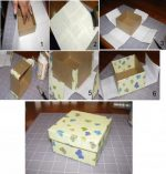 Как обклеить коробку подарочной бумагой – Как обклеить коробку бумагой — мастер-класс. Как обклеить круглую коробку бумагой