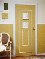 Декор для двери – дизайн межкомнатных моделей в квартире, оформление, украшение и декорирование конструкций своими руками