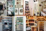 Дизайн кладовой – как обустроить помещение небольших размеров, обустройство хранения вещей в «хрущевке»