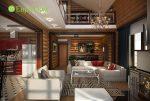 Дизайн загородных домов и коттеджей фото внутри – Дизайн коттеджа внутри. 35 фото