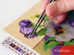 Алмазная мозаика как делать пошагово – Советы и рекомендации, как правильно делать алмазную вышивку