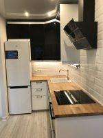 Дизайн очень маленькой кухни с холодильником фото – Ой!