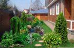 Палисадник на даче – Дизайн палисадника перед домом своими руками, фото красивых палисадников