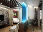 Ремонт в однокомнатной квартире 40 кв – Интерьер однокомнатной квартиры 40 кв м — 90 фото