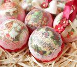 Винтажные новогодние шары своими руками – Создаем винтажный ёлочный шар – мастер-класс для начинающих и профессионалов